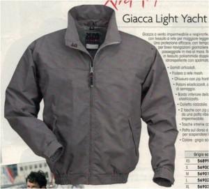 giacca light yacht