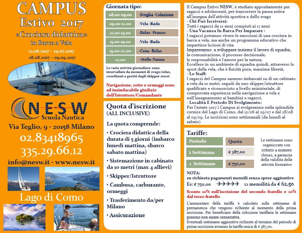 Campus Estivo NESW 2017